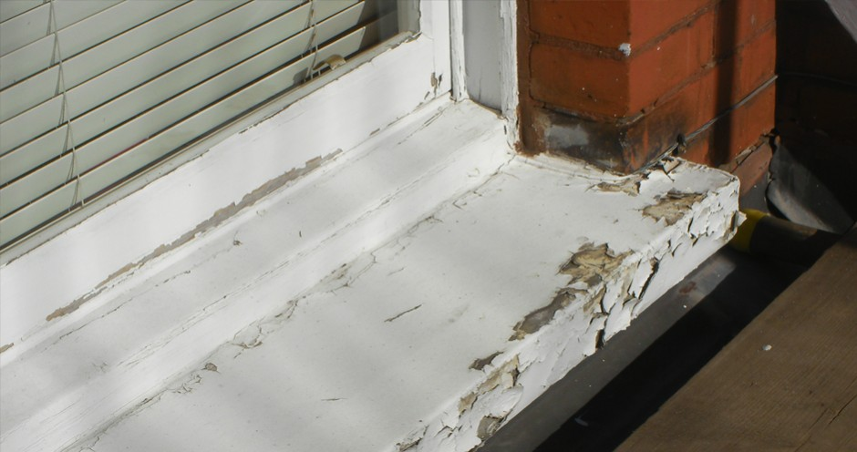 Before Window Sill